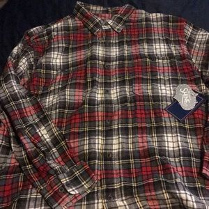 Big&tall Brushed flannel